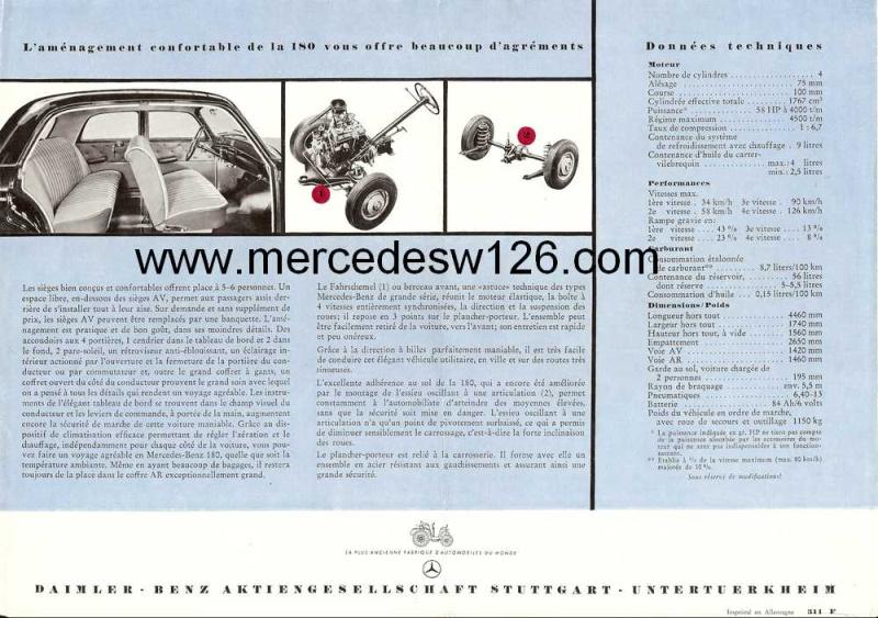 Prospectus sur la Mercedes W120 180 W120_111