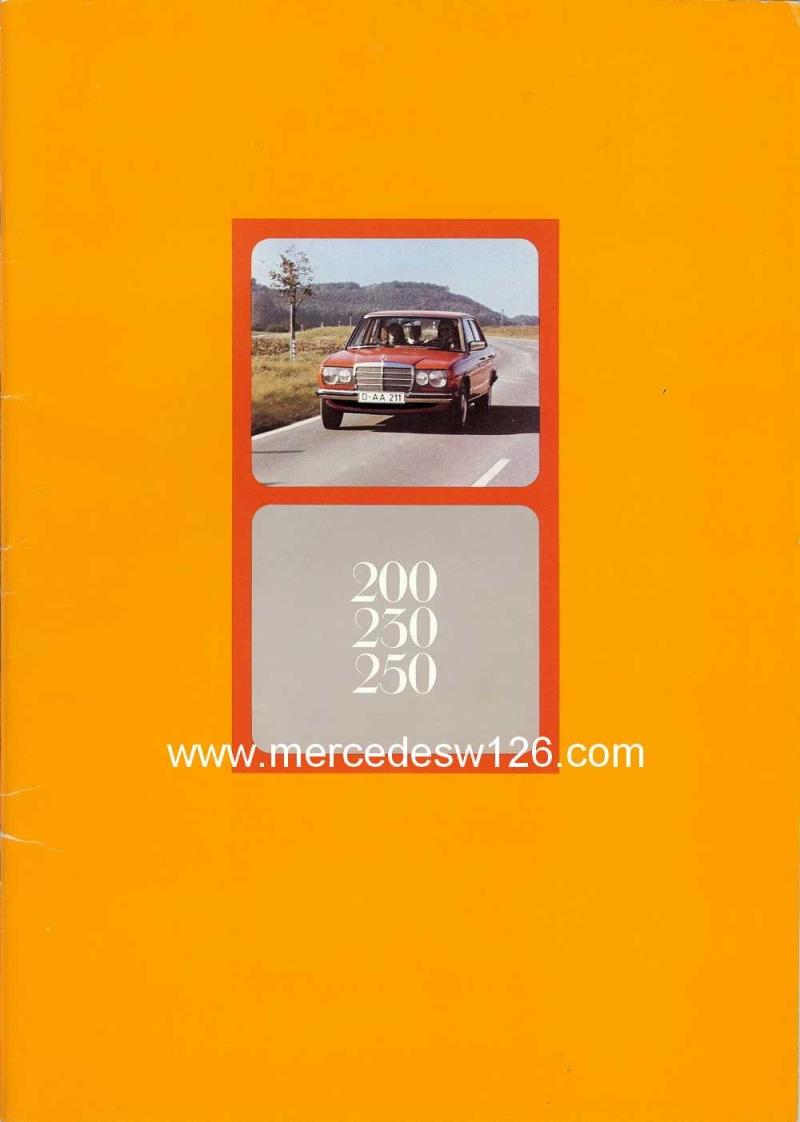 Catalogue de 1975 sur les W123 200,230 & 250 W123_110