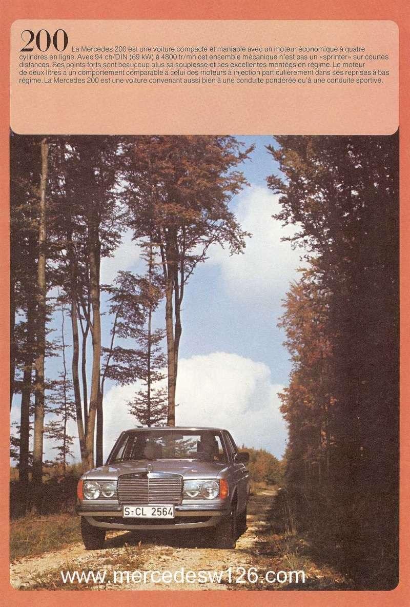 Catalogue de 1975 sur les W123 200,230 & 250 W123_125
