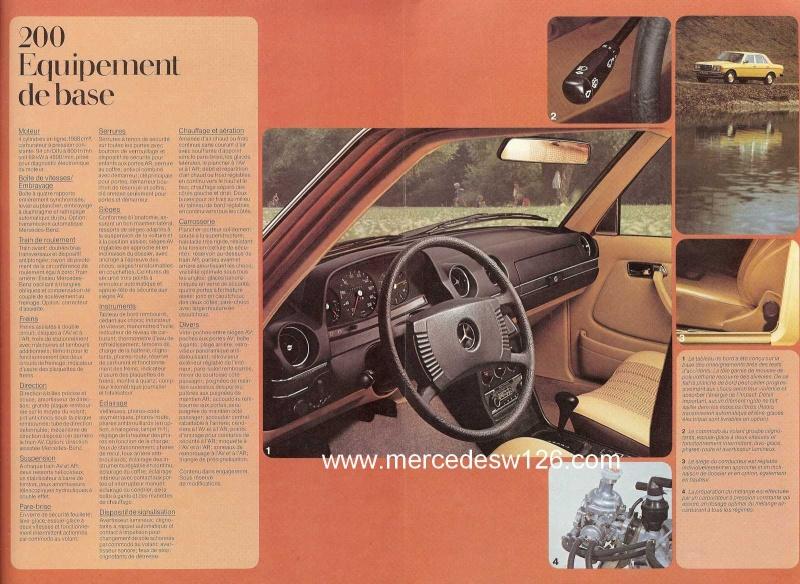 Catalogue de 1975 sur les W123 200,230 & 250 W123_129