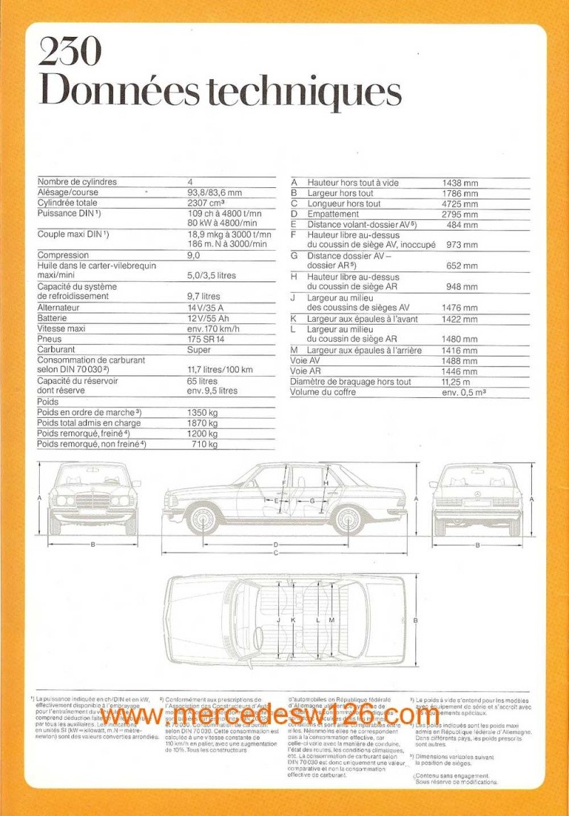 Catalogue de 1975 sur les W123 200,230 & 250 W123_131