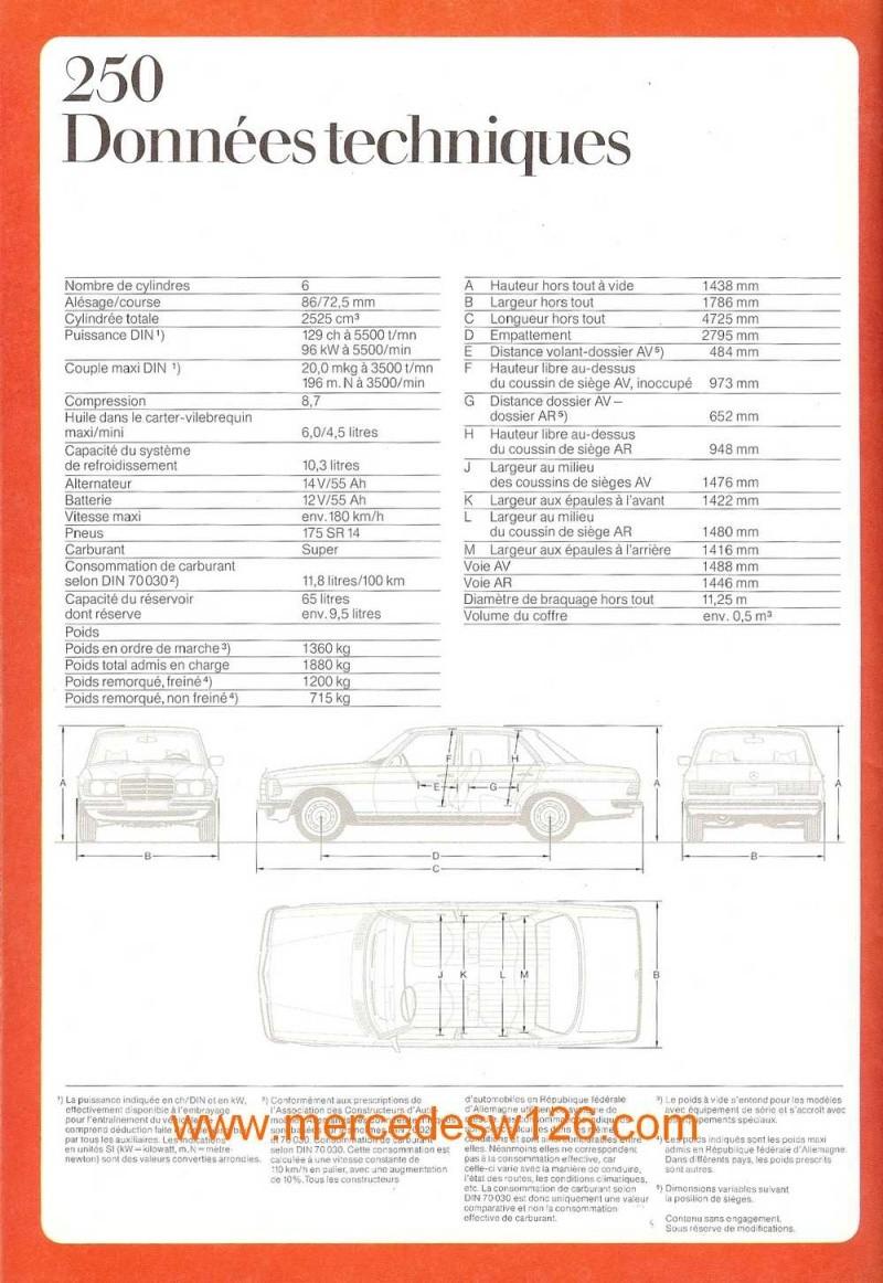 Catalogue de 1975 sur les W123 200,230 & 250 W123_136