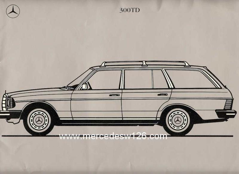 Catalogue américain de 1983 sur le break W123 W123_a10