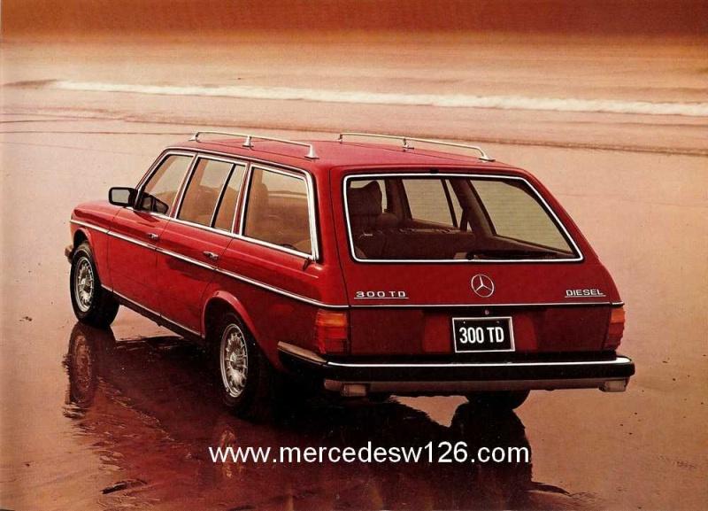 Catalogue américain de 1983 sur le break W123 W123_a11