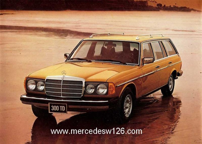 Catalogue américain de 1983 sur le break W123 W123_a14