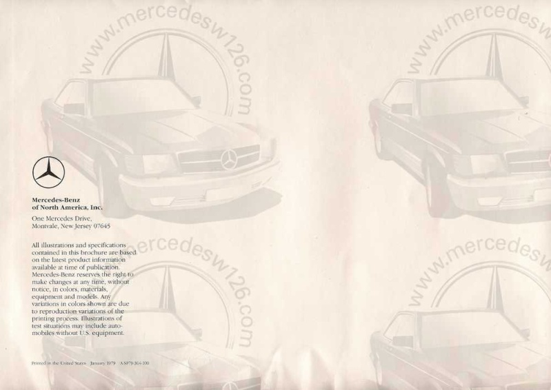 Catalogue américain de 1983 sur le break W123 W123_a17