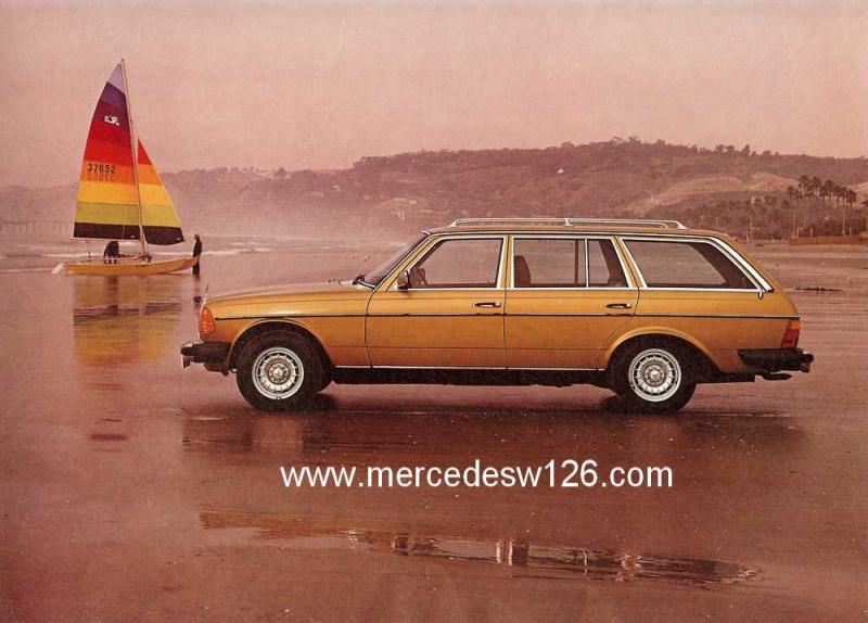Catalogue américain de 1983 sur le break W123 W123_a18