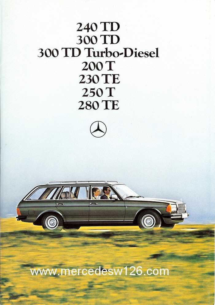 Catalogue de 1980 sur la gamme break W123 (53 pages !) W123_b10