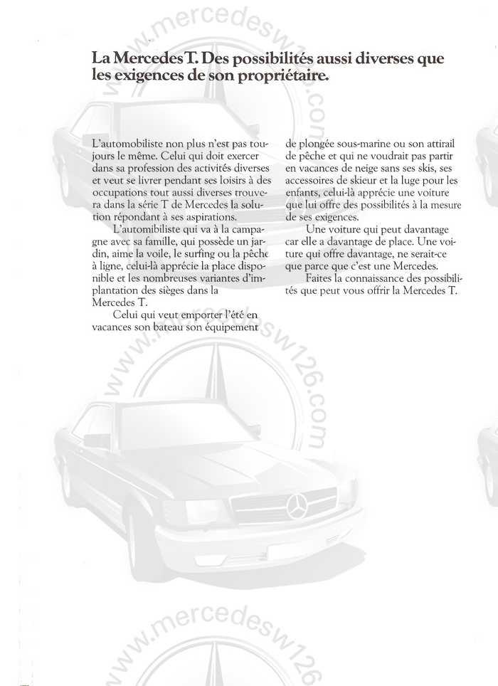 Catalogue de 1980 sur la gamme break W123 (53 pages !) W123_b11