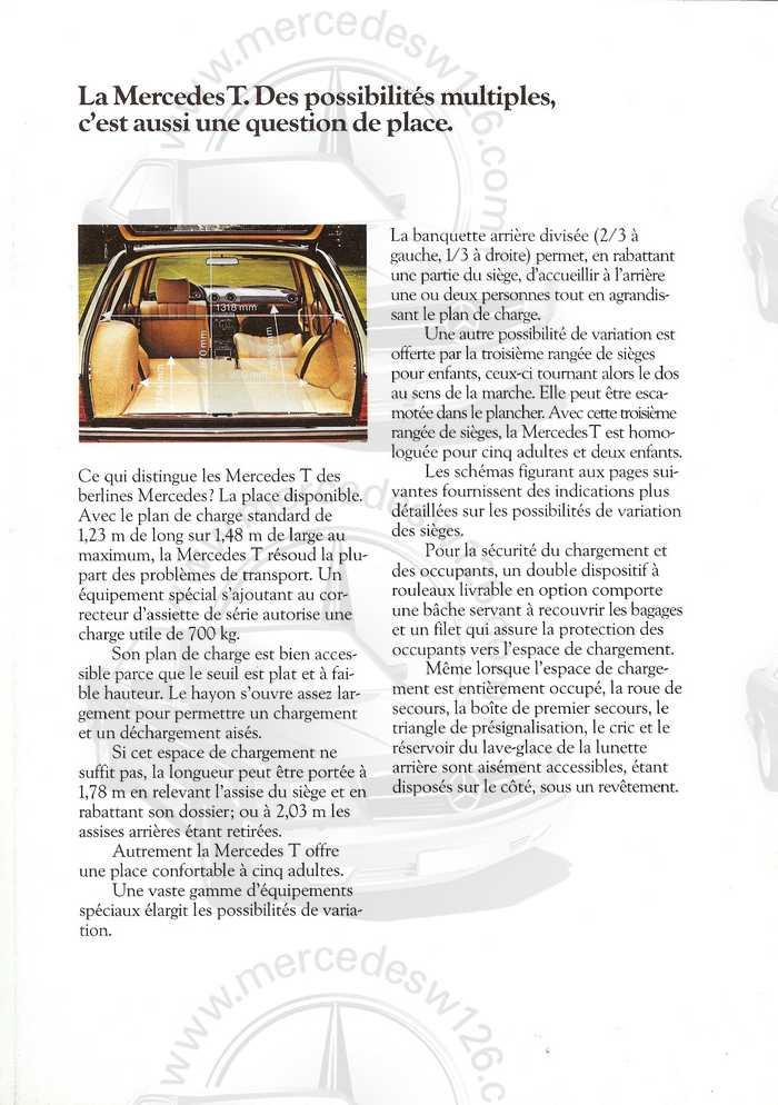 Catalogue de 1980 sur la gamme break W123 (53 pages !) W123_b15
