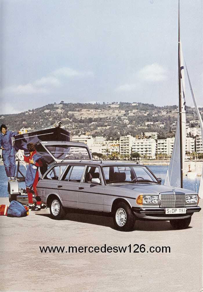 Catalogue de 1980 sur la gamme break W123 (53 pages !) W123_b31