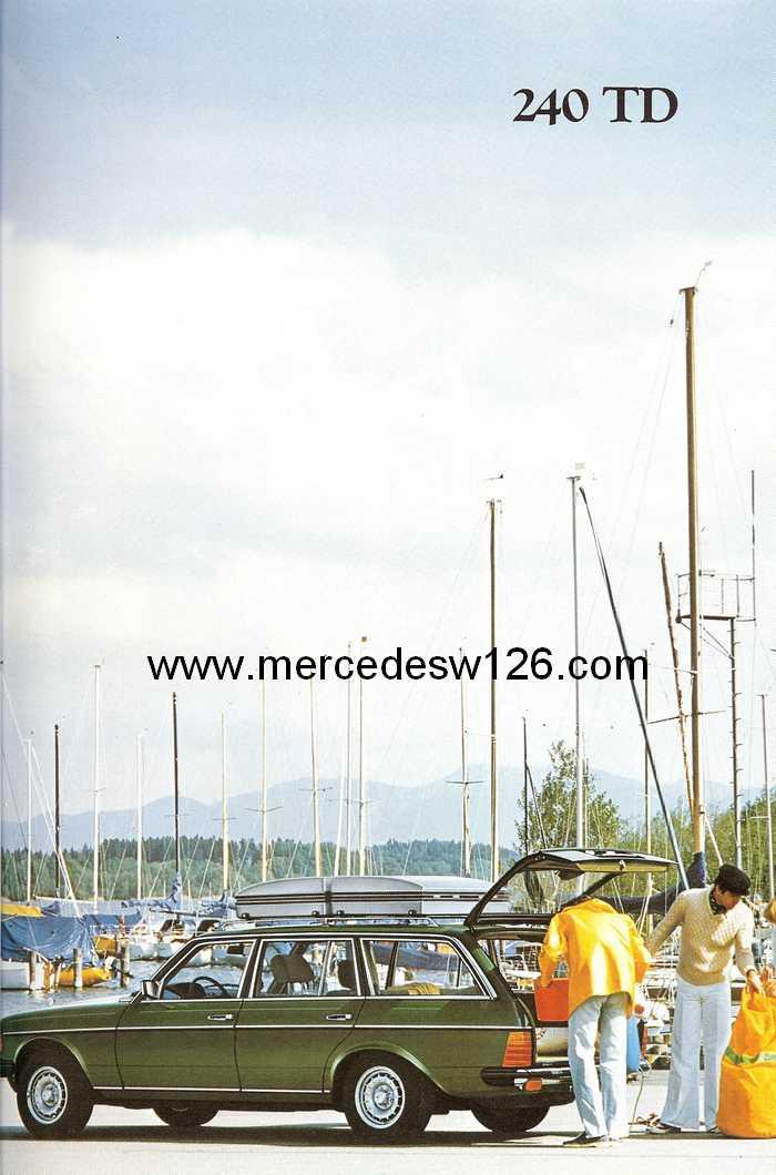 Catalogue de 1980 sur la gamme break W123 (53 pages !) W123_b36