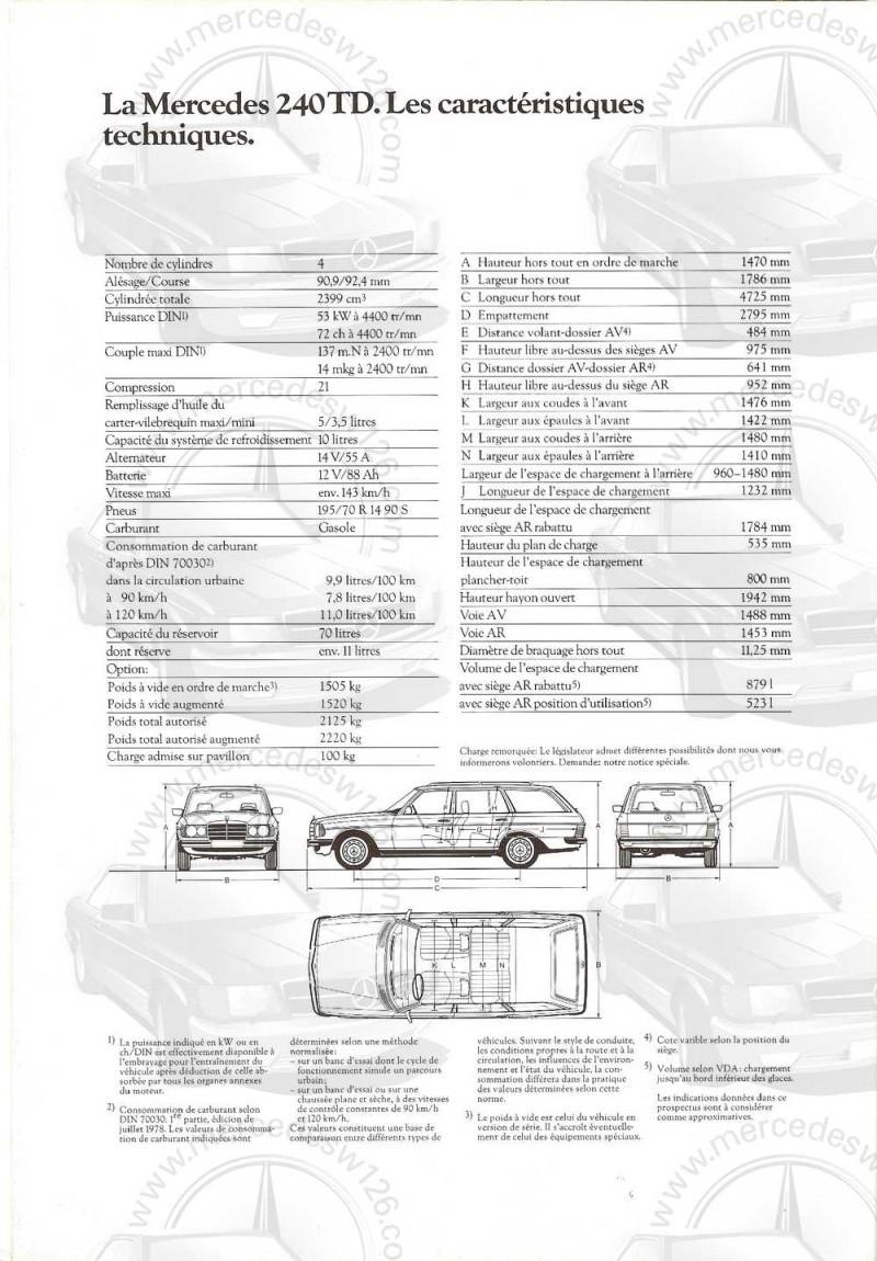 Catalogue de 1980 sur la gamme break W123 (53 pages !) W123_b42