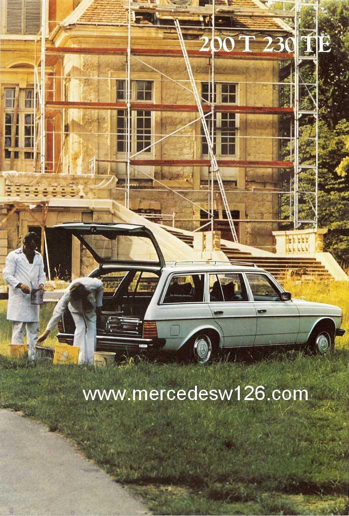 Catalogue de 1980 sur la gamme break W123 (53 pages !) W123_b47