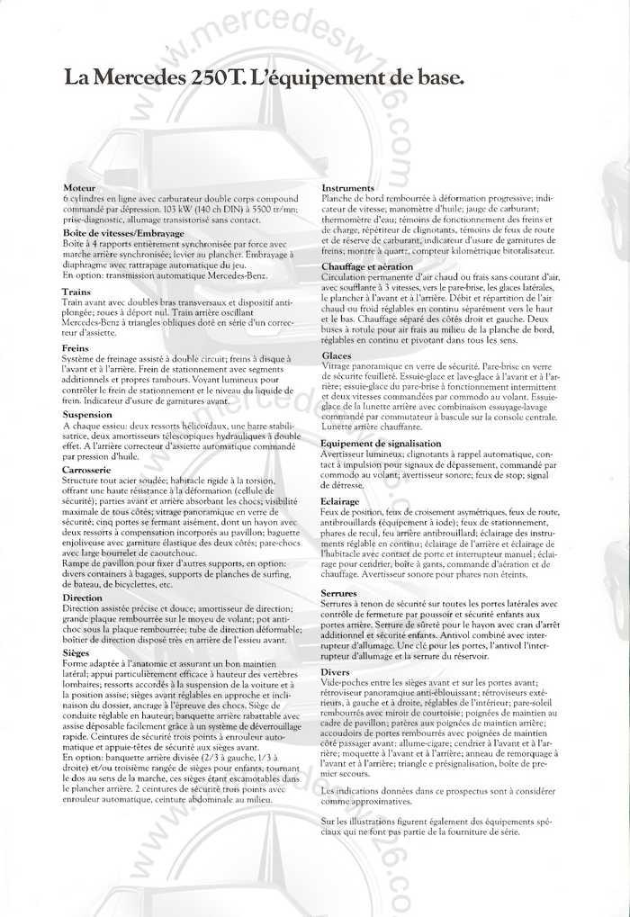 Catalogue de 1980 sur la gamme break W123 (53 pages !) W123_b52