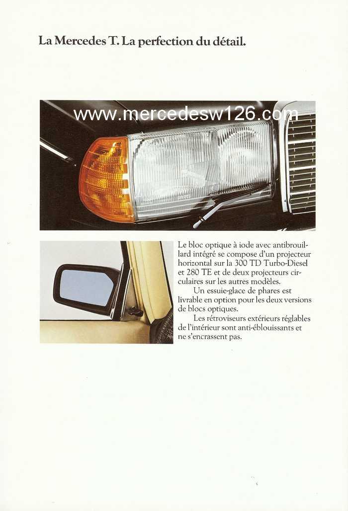 Catalogue de 1980 sur la gamme break W123 (53 pages !) W123_b58