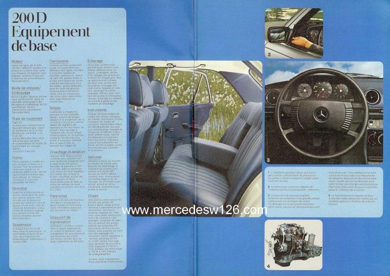 Catalogue de 1976 sur la gamme Mercedes W123 essence & diesel W123_g16