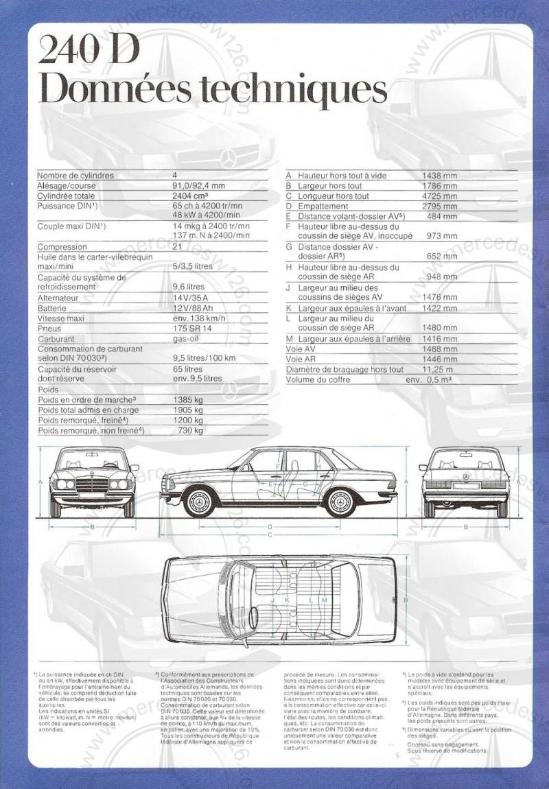 Catalogue de 1976 sur la gamme Mercedes W123 essence & diesel W123_g18