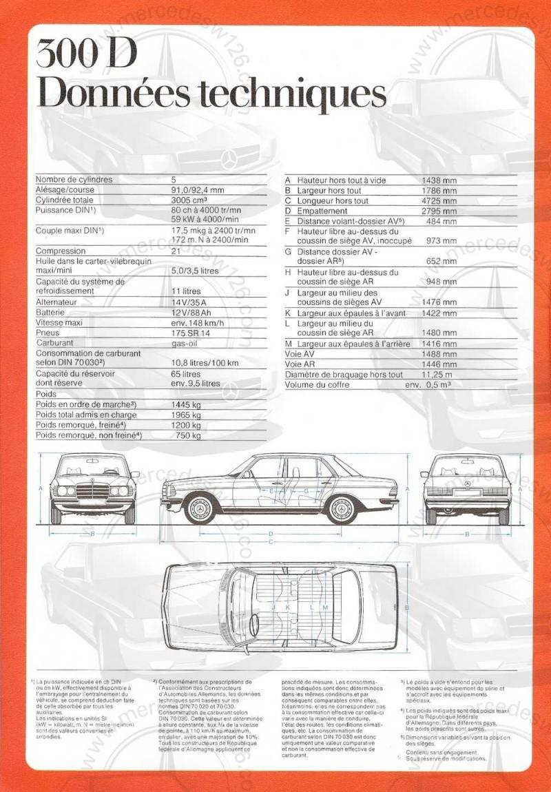 Catalogue de 1976 sur la gamme Mercedes W123 essence & diesel W123_g22