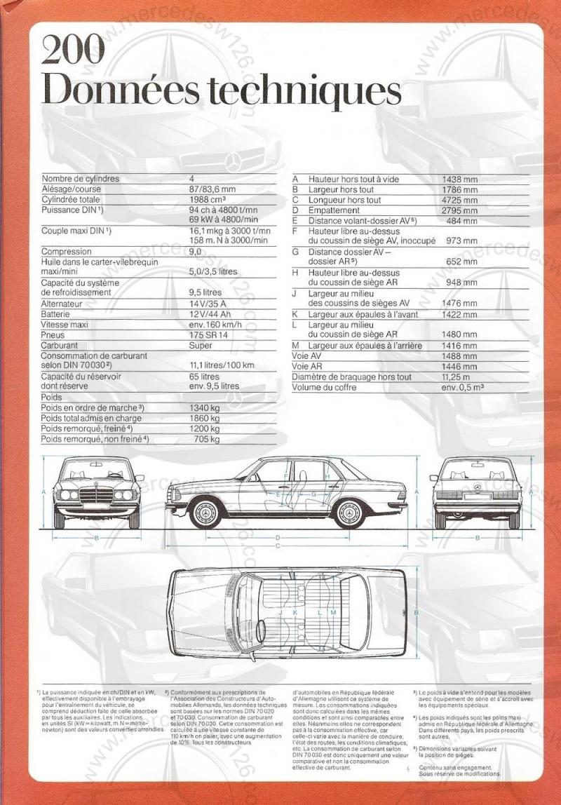 Catalogue de 1976 sur la gamme Mercedes W123 essence & diesel W123_g25