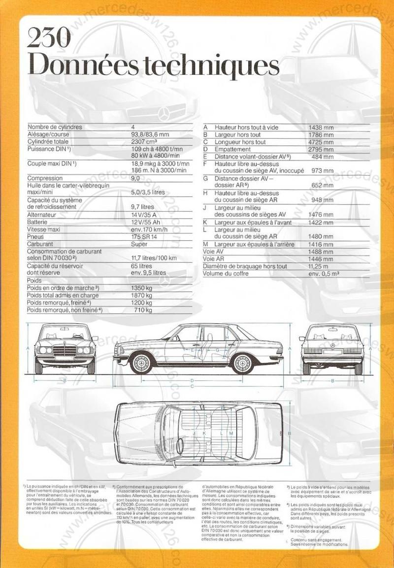 Catalogue de 1976 sur la gamme Mercedes W123 essence & diesel W123_g28