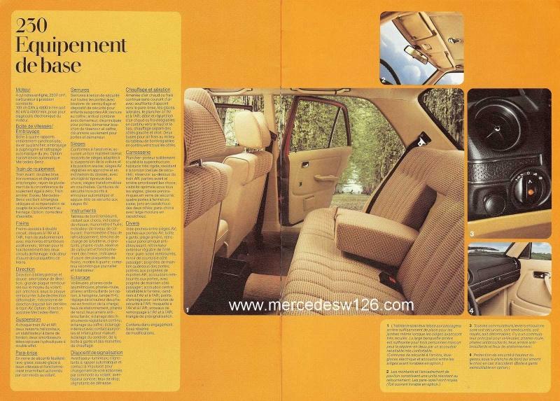 Catalogue de 1976 sur la gamme Mercedes W123 essence & diesel W123_g29