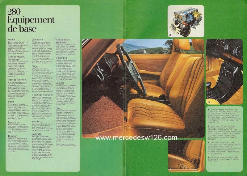 Catalogue de 1976 sur la gamme Mercedes W123 essence & diesel W123_g34