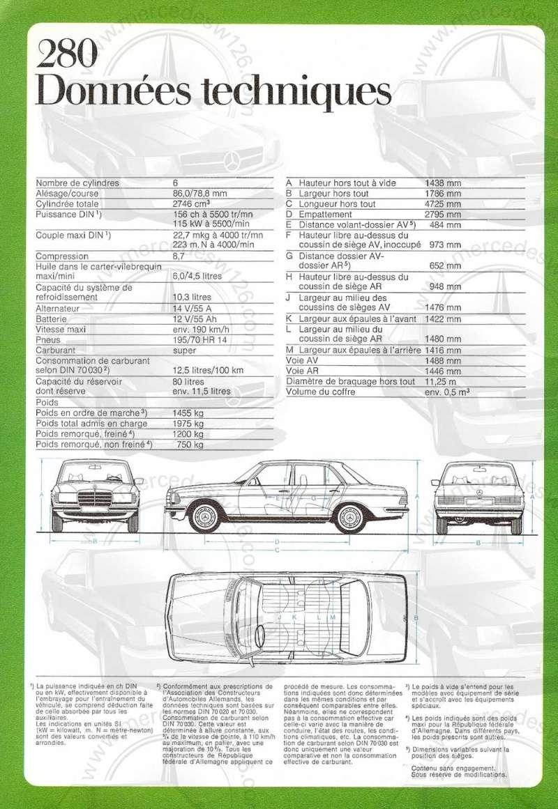 Catalogue de 1976 sur la gamme Mercedes W123 essence & diesel W123_g35