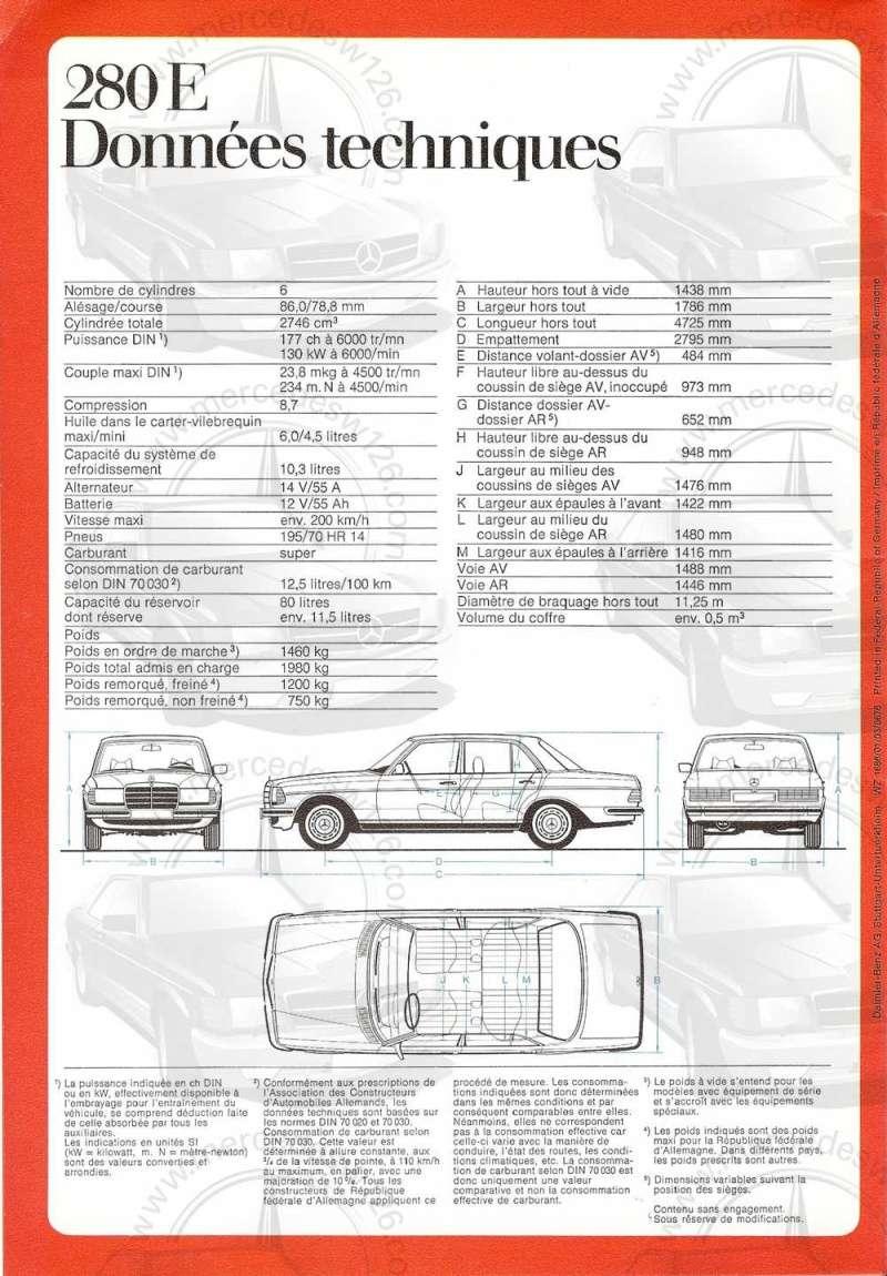 Catalogue de 1976 sur la gamme Mercedes W123 essence & diesel W123_g36
