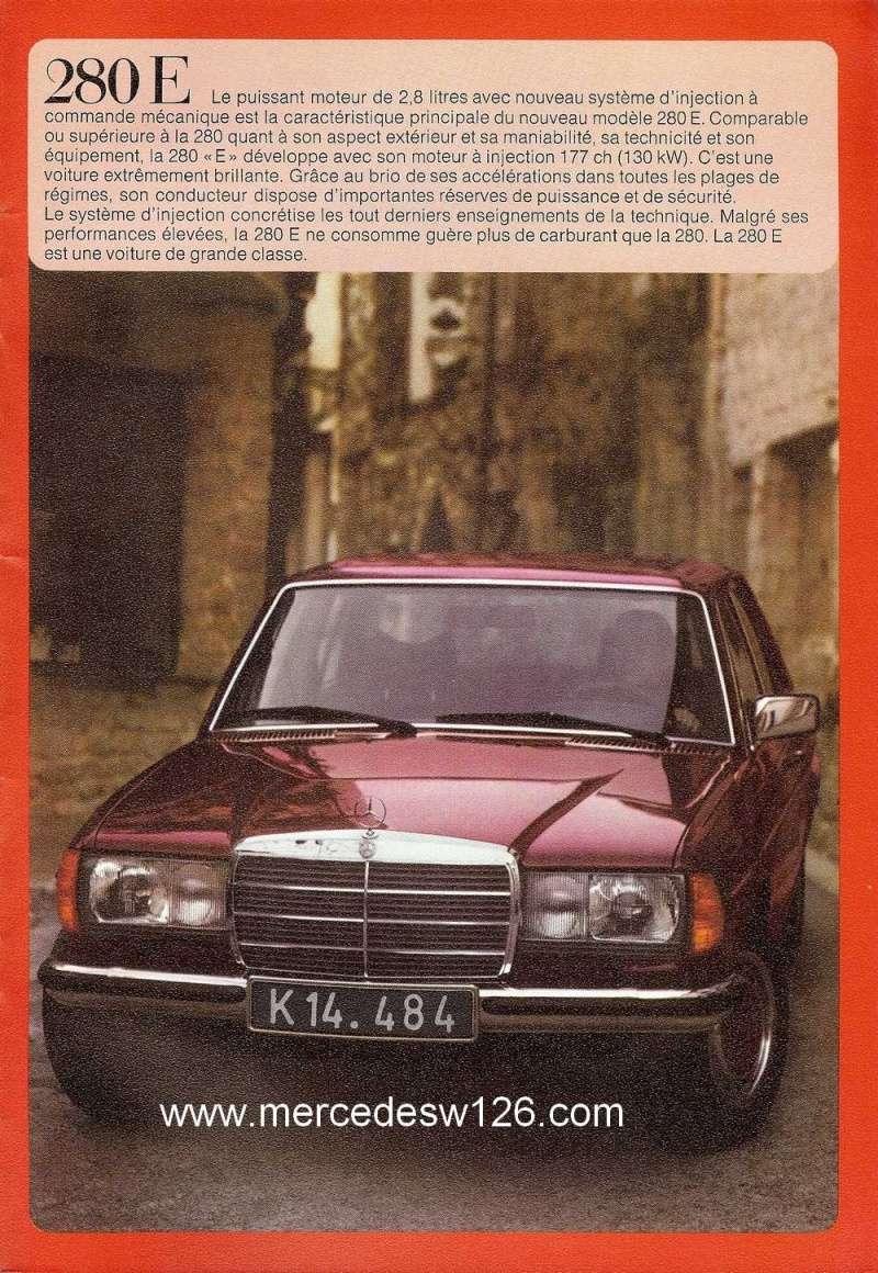 Catalogue de 1976 sur la gamme Mercedes W123 essence & diesel W123_g37