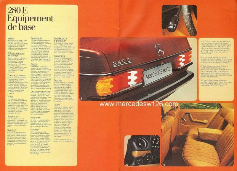 Catalogue de 1976 sur la gamme Mercedes W123 essence & diesel W123_g38