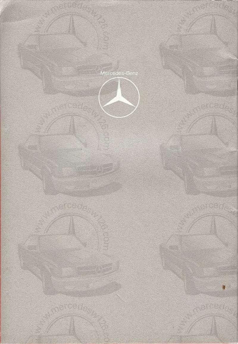 Catalogue de 1976 sur la gamme Mercedes W123 essence & diesel W123_g39