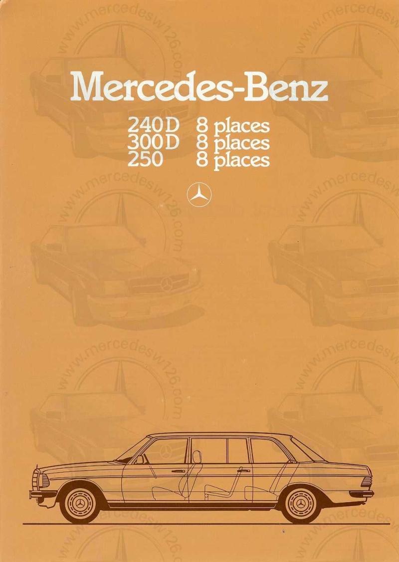 Dépliant de 1983 sur la Mercedes W123 limousine W123_l10