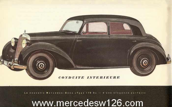 Catalogue de 1949 sur la W136 170 S W136_d12
