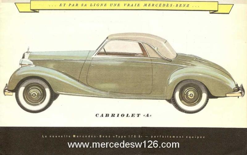 Catalogue de 1949 sur la W136 170 S W136_d13