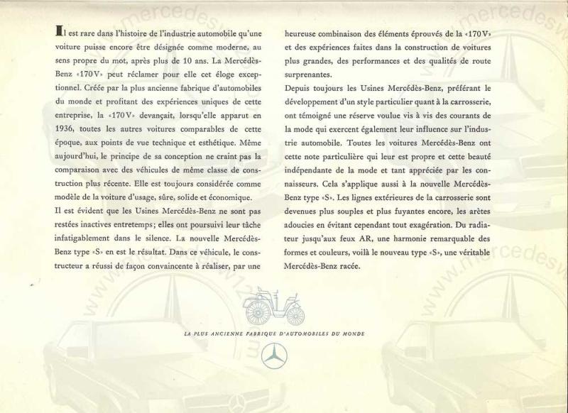 Catalogue de 1949 sur la W136 170 S W136_d15