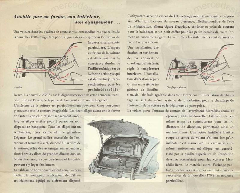 Catalogue de 1949 sur la W136 170 S W136_d16