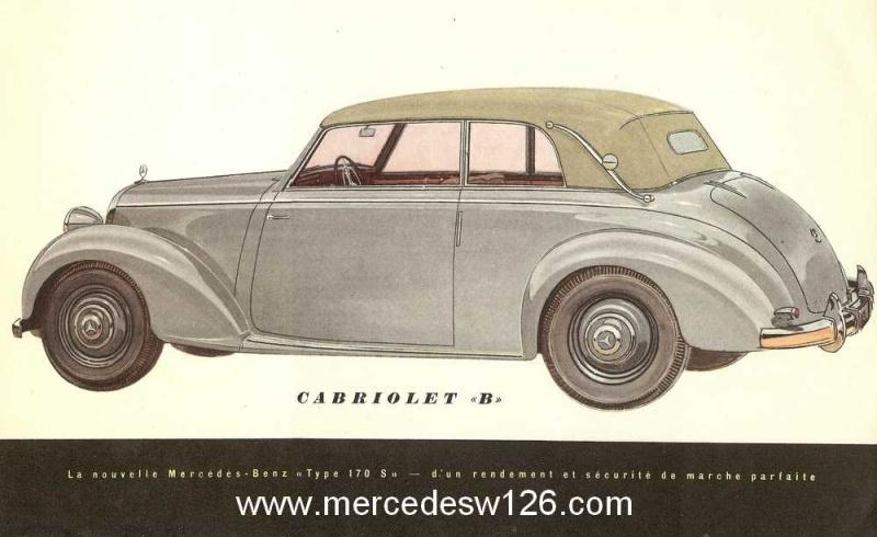 Catalogue de 1949 sur la W136 170 S W136_d18