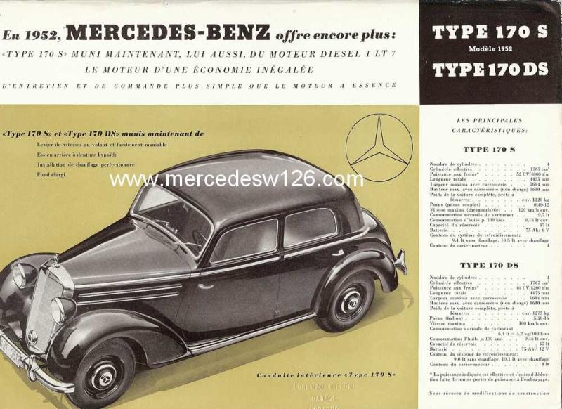 Prospectus de 1952 sur les Mercedes W136 170 S & 170 DS W136_p10