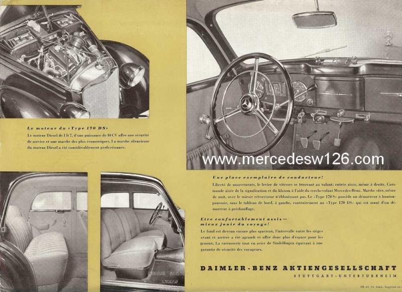 Prospectus de 1952 sur les Mercedes W136 170 S & 170 DS W136_p11