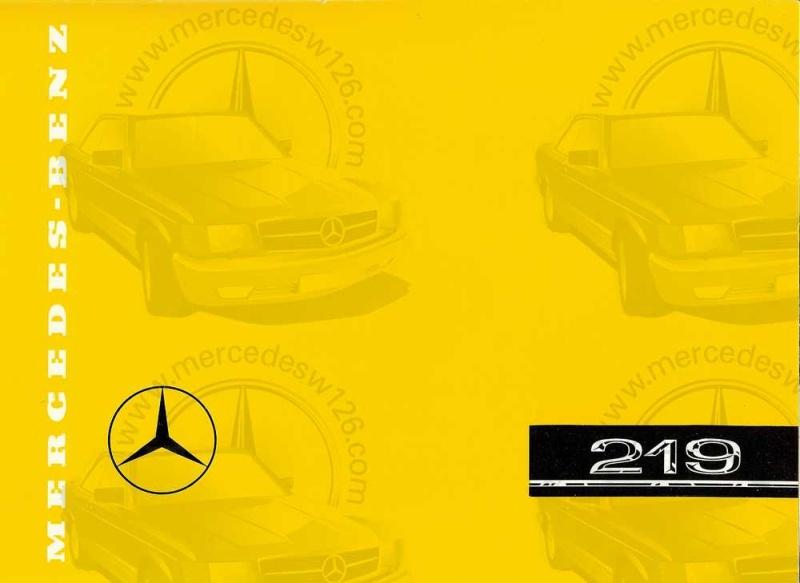 Catalogue de 1960 sur la Mercedes W180 219  W180_212