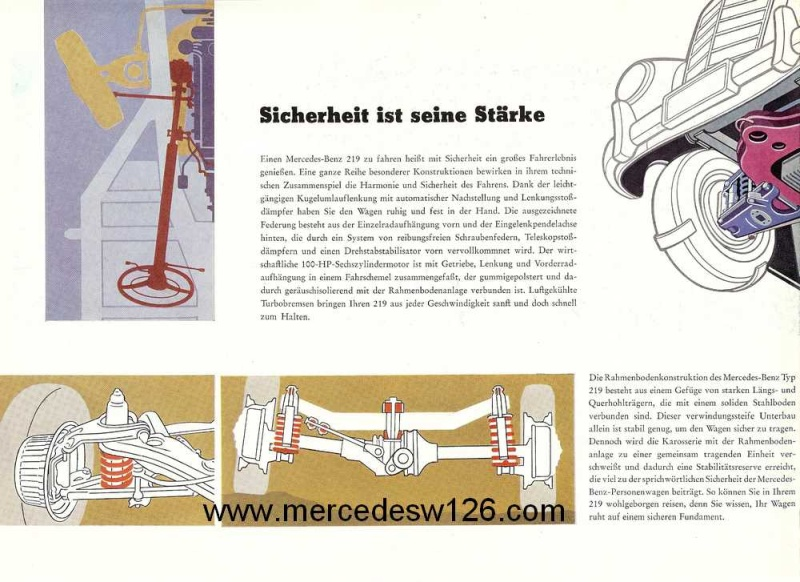 Catalogue de 1958 sur la Mercedes W180 219 W180_226