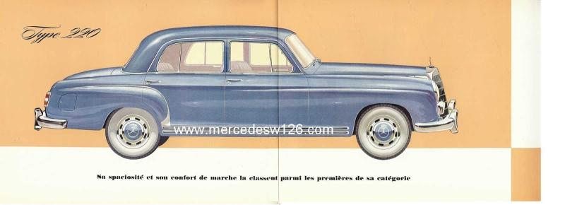 Catalogue de 1959 sur les W180 220 W180_228