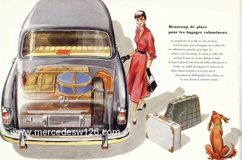 Catalogue de 1959 sur les W180 220 W180_229