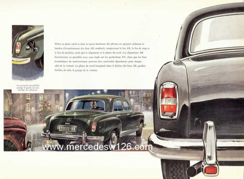 Catalogue de 1959 sur les W180 220 W180_233