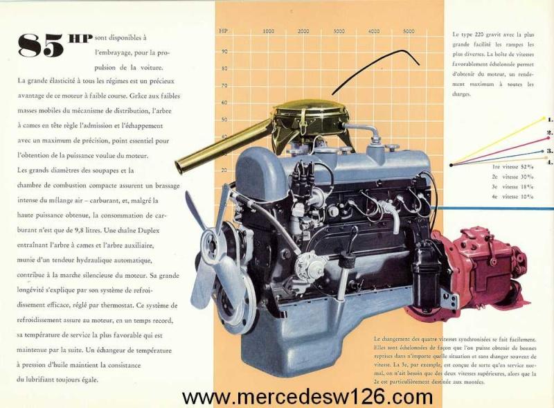 Catalogue de 1959 sur les W180 220 W180_237
