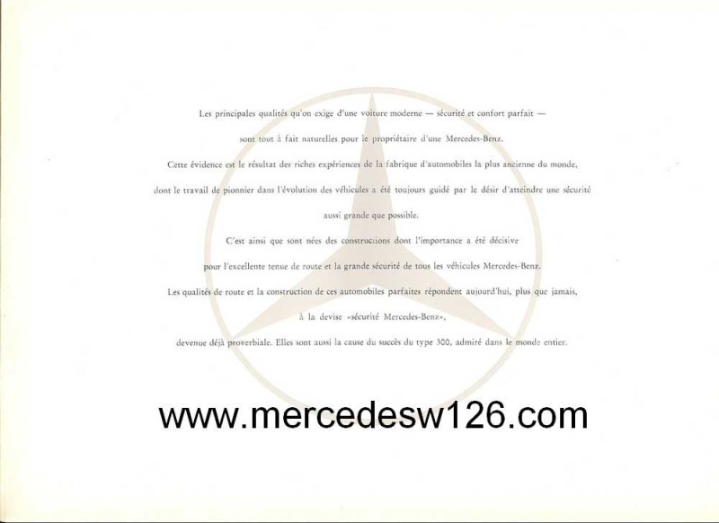 "Catalogue de 1951 sur la Mercedes W186 300 ""Adenauer"" W186_111"
