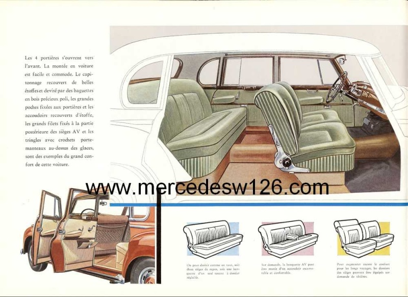 "Catalogue de 1951 sur la Mercedes W186 300 ""Adenauer"" W186_112"