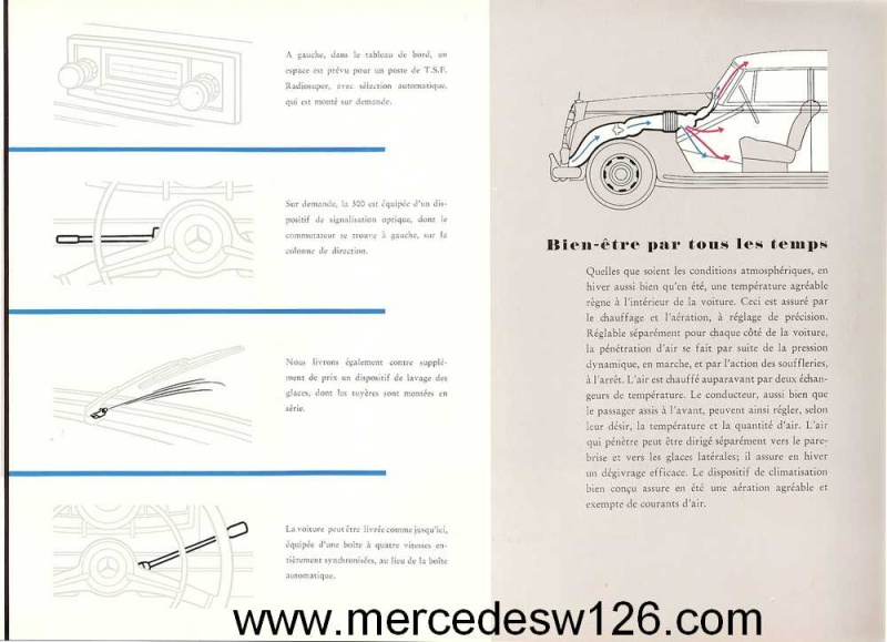"Catalogue de 1951 sur la Mercedes W186 300 ""Adenauer"" W186_114"