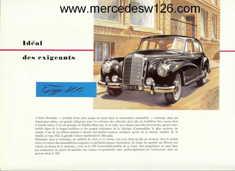 "Catalogue de 1951 sur la Mercedes W186 300 ""Adenauer"" W186_115"